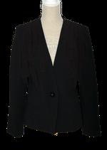NISSA jasje, blazer, colbertje, zwart, Mt. 38