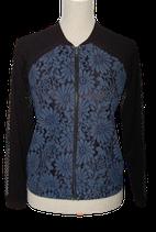 TRAMONTANA vestje blauw/zwart, Mt. S