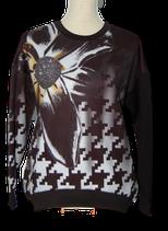 CRISTINA EFFE sweater, GLAM truitje, zwart, Mt. 42