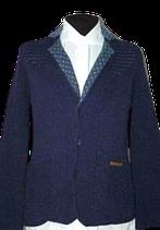 STATE OF ART vest style blazer, blue. Mt. S