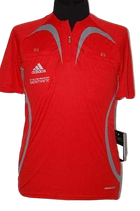 ADIDAS  vintage REF PRO JSY red shirt , Mt. S