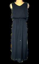 AAIKO  viscose jurk, VIVI VIS, zwart, Mt. M