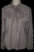 RENE LEZARD blouse, taupe - champagne, Mt. 42