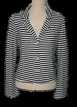 WEEKEND MAX MARA vestje, zwart -wit, Mt. XL