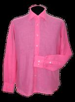 SUITSUPPLY overhemd, linnen, roze, Mt. 39