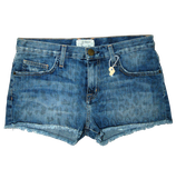 CURRENT/ELLIOTT jeans, boyfriend short, blauw, Mt. M
