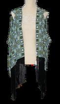 SUPERTRASH shawl, omslagdoek,  groen