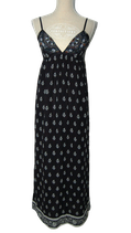 CALYPSO St. BARTH 100% zijde jurkje, jurk, zwart, Mt. M