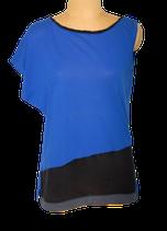 COMPTOIR DES COTONNIERS topje, hemd, top, blauw, Mt. S
