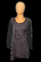 SANDWICH jurkje, viscose jurk, grijs/taupe, Mt. 38