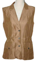 MARC CAIN zijde-mix blouse. Mt. 38