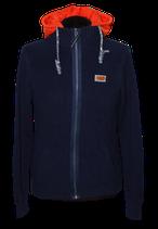 BLUE INDUSTRY zipped vest met hoodie, blauw, Mt. S