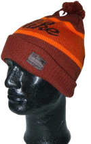 NIKE Old snow beanie. vintage muts, orange, Mt. one size