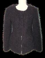 BILLABONG DESIGNERS CLOSET fluffy vestje, jasje, zwart Mt. S
