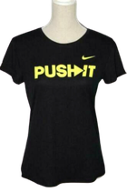 NIKE DRI-FIT PUSH IT shirt, Mt. L