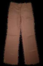 STILLS viscose-linnen broek, pantalon, brons, Mt. 38