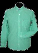 TOMMY HILFIGER overhemd, grn chckrd, Mt. S