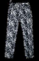 SUPERTRASH jeans, Paradise flower, wit-zwart, Mt. W25
