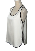 MAISON SCOTCH topje, top, hemd, wit/crème, Mt. L