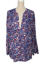 ALBA MODA blouse flowers, Mt. 44
