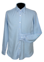 BAGUTTA button-down overhemd,  blauw, Mt. L
