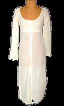 ISLA IBIZA jurk, bohemien jurkje, BONITA, off-white, Mt. M