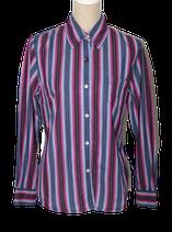 BLUE WILLI'S gestreepte blouse,  paars - blauw, Mt. M