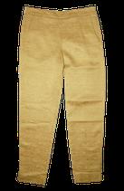 STILLS  shiny pantalon, geel/goud, Mt. 36