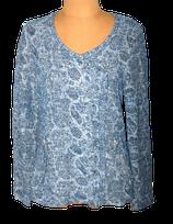 GEISHA vest, jasje, blauw/zilver, Mt. L