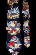 Looney Tunes zijden stropdas, Taz & friends Golf