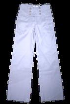 STILLS katoen-linnen pantalon, lila, Mt. 34