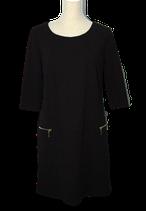NIEUW RINASCIMENTO jurkje, zwart, Mt. M
