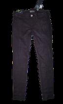 GUESS jeans, suedine broek, SKINNY, zwart, Mt. W25