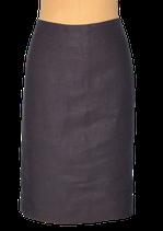 PAUW AMSTERDAM linnen rokje, zwart/antraciet, Mt. 42