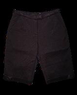 CORA KEMPERMAN quilted capri, zwart, Mt. M (S)