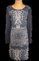 TRAMONTANA jurkje, jurk, dierenprint, grijs, Mt. M