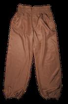 STILLS 100% zijden broek, bruin, Mt. 34