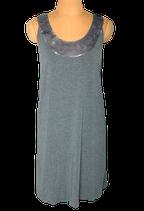 INWEAR jurk, jurkje, viscose mini-jurk, grijs, Mt. XS