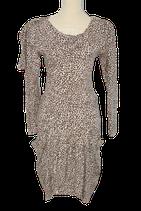 JUFFROUW JANSEN jurkje, rok & top,  panter-print, Mt. M