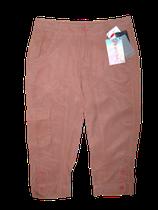 GEISHA capri, driekwart broek, bruin/roze, Mt. S (XS)