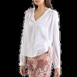 SUNCOO PARIS blouse-top,  wit, Mt. XS
