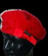 KANGOL mooi rode barret, Angora mt. M-L