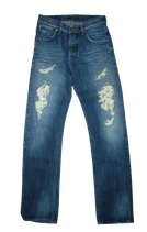 NUDIE jeans, LAB JOE 7 spijkerbroek, blauw, Mt. W29 - L34