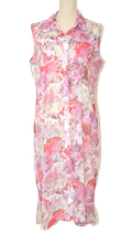 SUPERTRASH jurkje, Long Flowers roze, Mt. 34