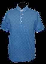 BUGATTI polo, shirt, blauw, Mt. M