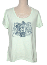 Mc.GREGOR shirt, t-shirt, mint-groen, Mt. XL