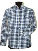 RIVER WOODS slim fit overhemd, checkered, Mt. S
