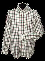 MAZZARELLI geruit overhemd, wide spread shirt, Mt. L