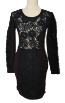 SUPERTRASH  jurkje,  DEEPER, zwart, Mt. XS