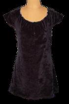 KING LOUIE fluweel jurkje, mini-jurk, zwart, Mt. M